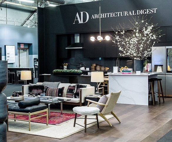 architectural digest show 2019 top stands ARCHITECTURAL DIGEST SHOW 2019 TOP STANDS 1 AD SHOW 585x483