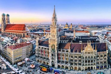 Munich Creative Business Week 2019 [object object] Munich Creative Business Week 2019 Event Guide 49661244panorama m  nchen innenstadt im abendlicht min 370x247