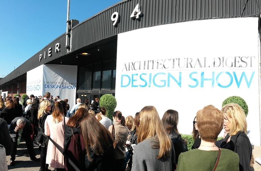 The entrance of the AD Design Show 2019 at the Pier 94. ad design show AD DESIGN SHOW 2019 EVENT GUIDE adds18 4