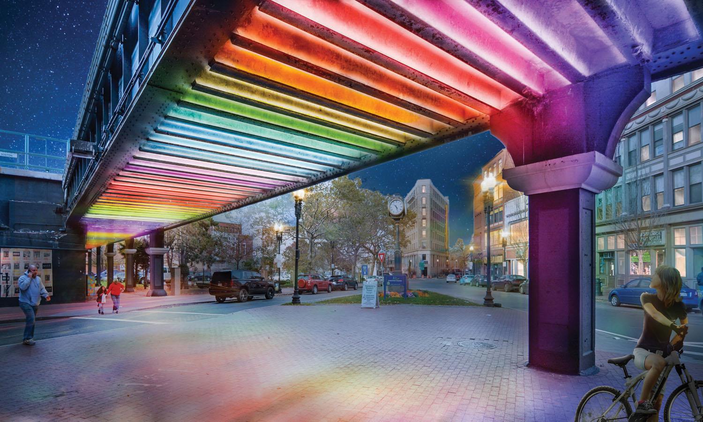 A colorful image og boston design week. boston design week BOSTON DESIGN WEEK 2019 boston design week2