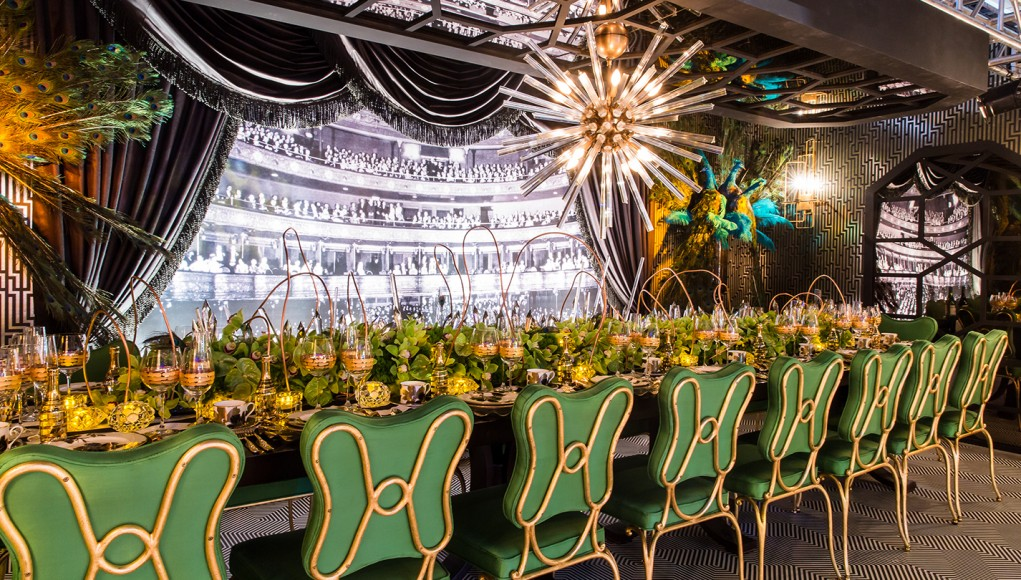A Dining by Design creative setting of the AD Design Show 2019. ad design show AD DESIGN SHOW 2019 EVENT GUIDE dining