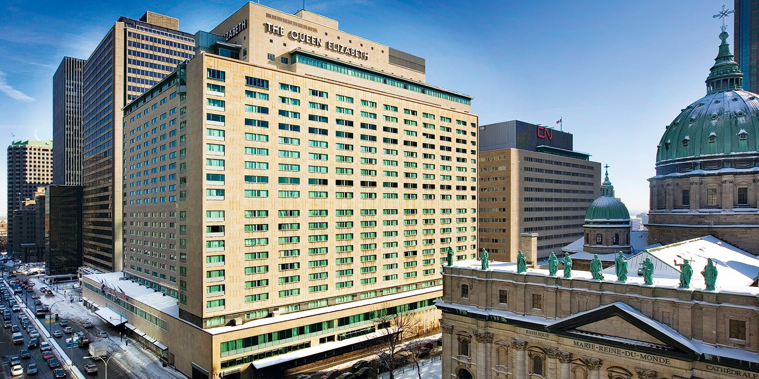 the fairmont queen elizabeth hotel by Montreal design guide  montreal design guide MONTREAL DESIGN GUIDE fairmont