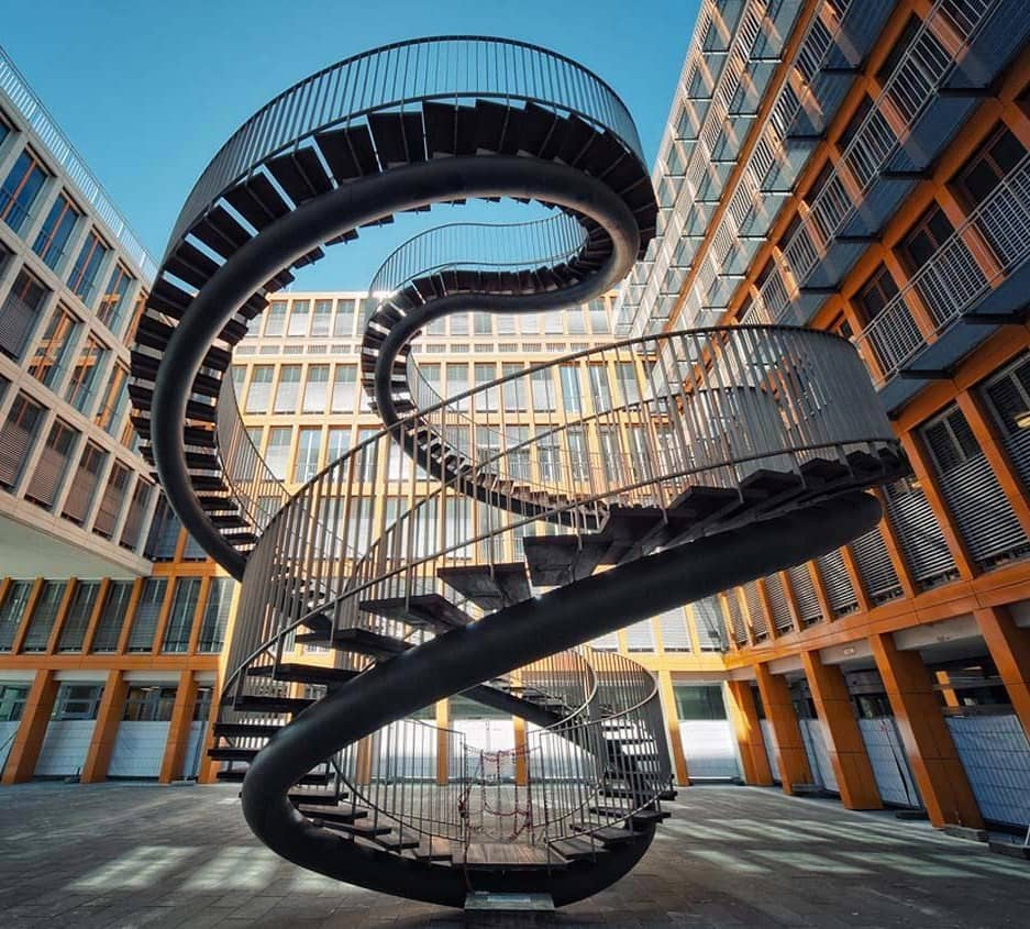 MUNICH DESIGN GUIDE munich design guide Munich Design Guide infinite staircase olafur eliasson1 min