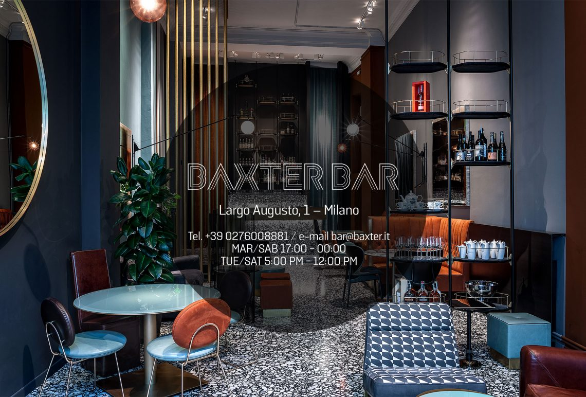 baxter at Milan Design Week milan design week MILAN DESIGN WEEK/FUORISALONE 2019 – BEST EVENTS & PARTIES baxter bar