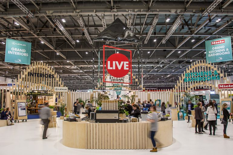 grand designs live 2019 event guide GRAND DESIGNS LIVE 2019 EVENT GUIDE grand designs live 770x513