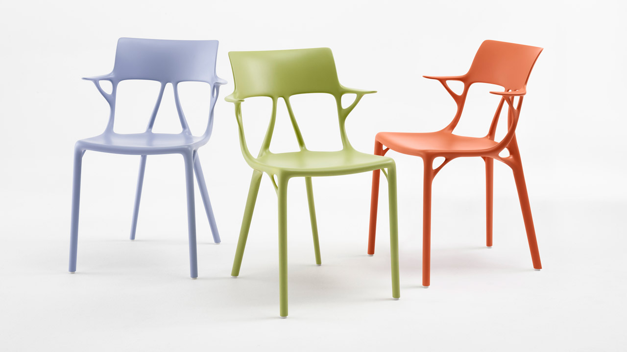 kartell chair at Salone del Mobile 2019 salone del mobile 2019 SALONE DEL MOBILE 2019: THE BEST OF THE EVENT kartell starck