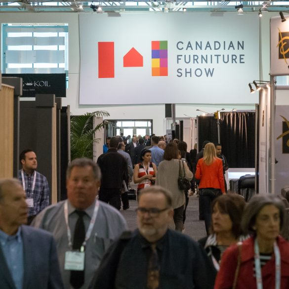canadian furniture show 2019 CANADIAN FURNITURE SHOW 2019 EVENT GUIDE canadian show 585x585