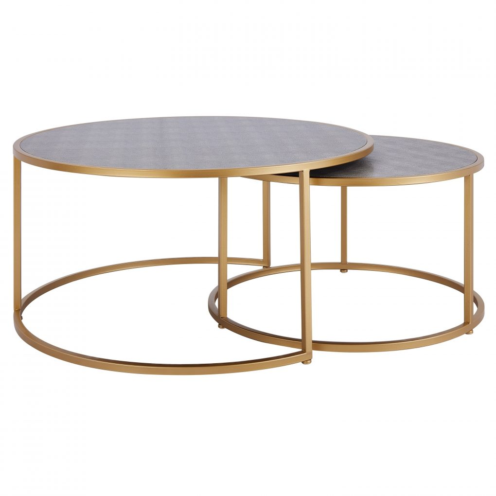 Las Vegas Market 2019 Best Stands las vegas market 2019 best stands LAS VEGAS MARKET 2019 BEST STANDS Anza Faux Shagreen Nesting Coffee Table Set of 2 865a82a7 0f58 4e67 b056 af722078e6be