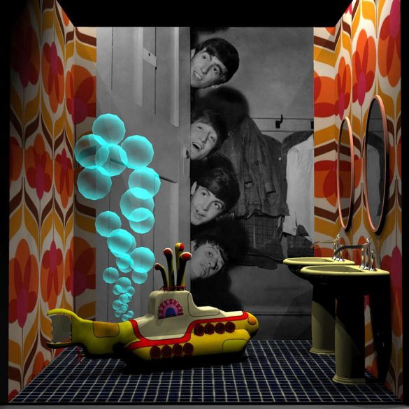 cersaie 2019 Cersaie 2019: Famous Bathrooms Exhibit  01 Beatles hi 585x585