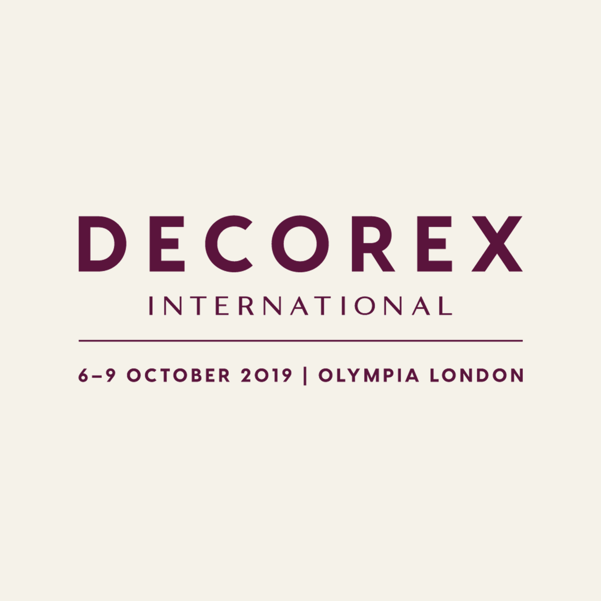 Decorex International 2019 Event Guide decorex international 2019 Decorex International 2019 Event Guide Decorex International 2019 Event Guide 1
