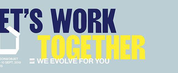 maison et objet 2019 Maison Et Objet 2019: Work! Making Workplaces Feel Like Home Maison Et Objet 2019 Work Making Workplaces Feel Like Home 1 585x241