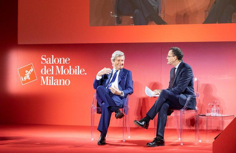Salone Del Mobile 2020: Press Conference salone del mobile 2020 First News Of Salone Del Mobile 2020 salone del mobile 2020 press conference 1 800x519