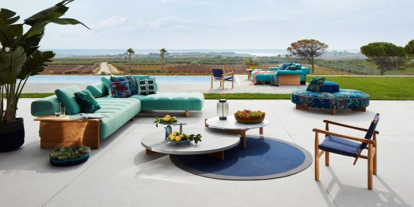 cassina Cassina Unveils Outdoor Furniture Collection cassina unveils outdoor furniture collection 585x293
