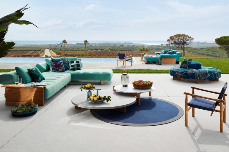 cassina Cassina Unveils Outdoor Furniture Collection cassina unveils outdoor furniture collection 770x513