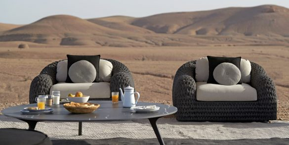 luxury outdoor furniture Luxury Outdoor Furniture: Bring The Inside Out outdoor furniture 1 2 585x293