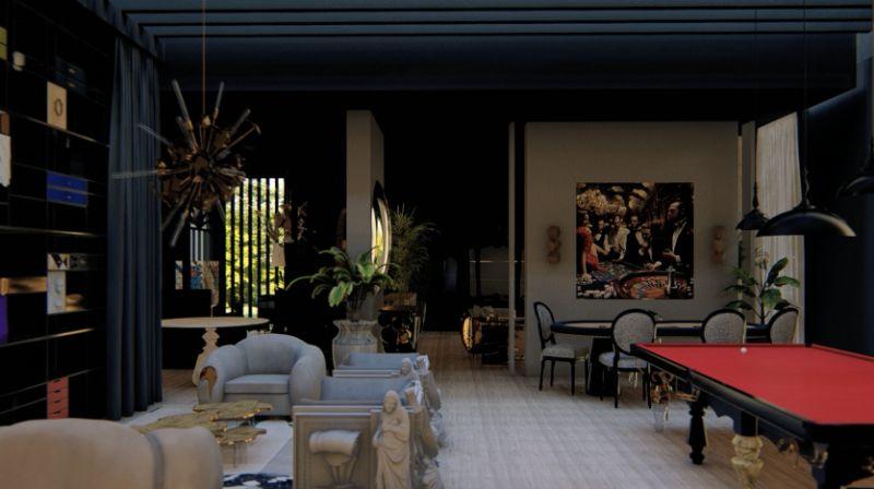 Boca do Lobo's House:Celebrate Design With This Virtual Tour boca do lobo Boca do Lobo's House:Celebrate Design With This Exclusive Virtual Tour boca lobos house celebrate design virtual tour 5 1