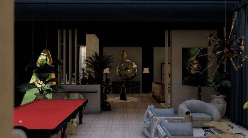 boca do lobo Boca do Lobo's House:Celebrate Design With This Exclusive Virtual Tour boca lobos house celebrate design virtual tour 7