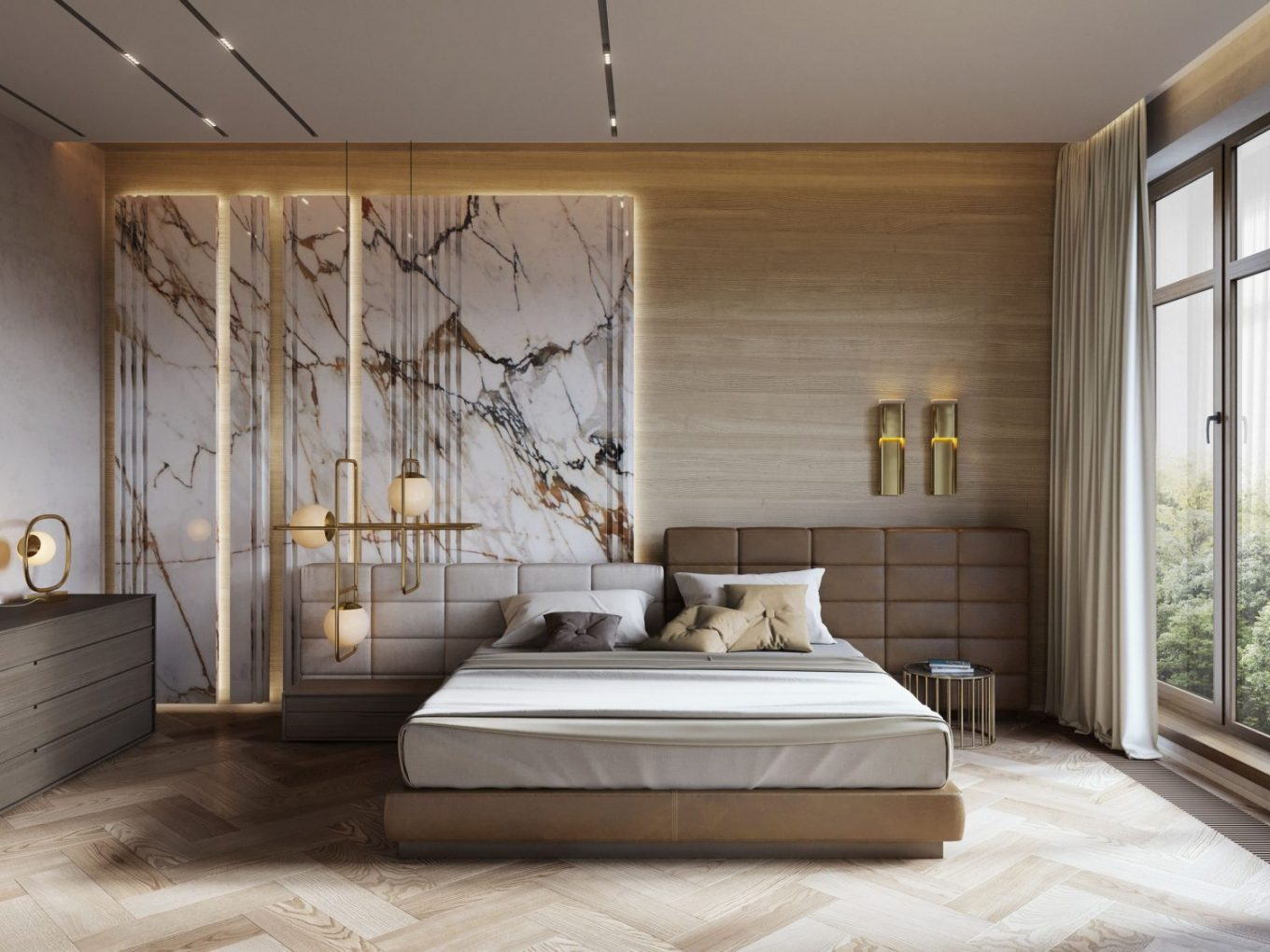 bedroom ideas Upgrade Your Decor With These Amazing Bedroom Ideas  1e1914a4caa5c29168699020b9c20522 scaled