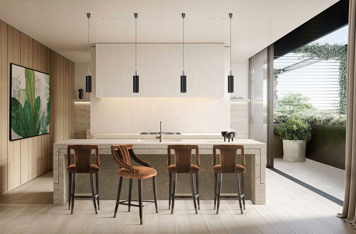 bar stool Discover How To Choose A Bar Stool For Your Kitchen discover choose bar stool kitchen 1 1140x750