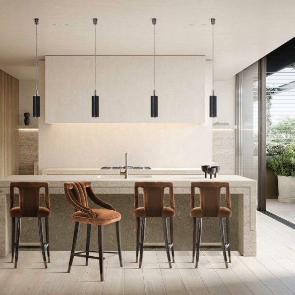bar stool Discover How To Choose A Bar Stool For Your Kitchen discover choose bar stool kitchen 1 585x585