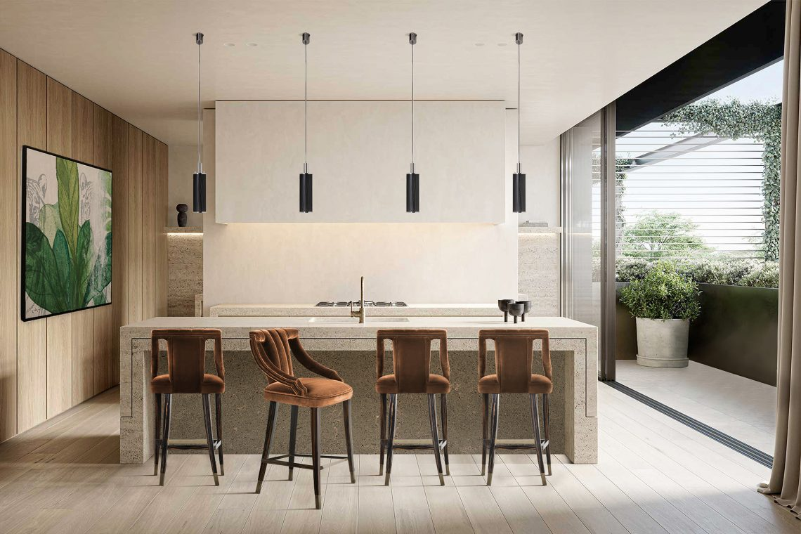 bar stool Discover How To Choose A Bar Stool For Your Kitchen discover choose bar stool kitchen 1