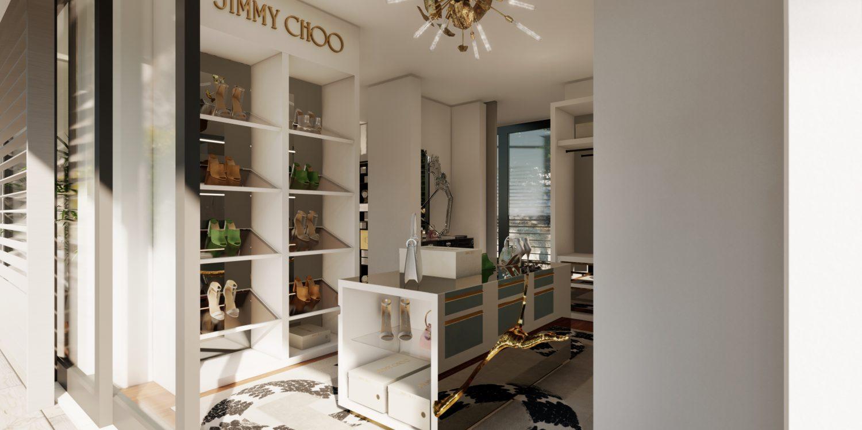 jimmy choo Jimmy Choo And Boca Do Lobo Created The Most Luxury Walk-In Closet Boca do Lobos Island Mansion A Dream Villa In Capri 1 1500x750