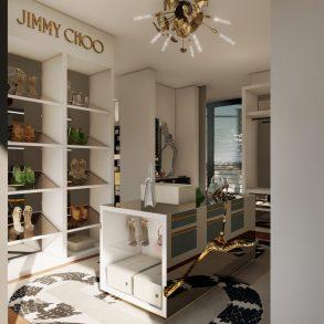jimmy choo Jimmy Choo And Boca Do Lobo Created The Most Luxury Walk-In Closet Boca do Lobos Island Mansion A Dream Villa In Capri 1 293x293