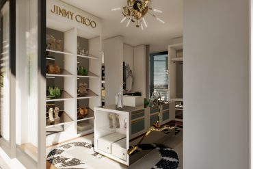 jimmy choo Jimmy Choo And Boca Do Lobo Created The Most Luxury Walk-In Closet Boca do Lobos Island Mansion A Dream Villa In Capri 1 370x247