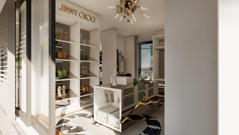 jimmy choo Jimmy Choo And Boca Do Lobo Created The Most Luxury Walk-In Closet Boca do Lobos Island Mansion A Dream Villa In Capri 1 scaled