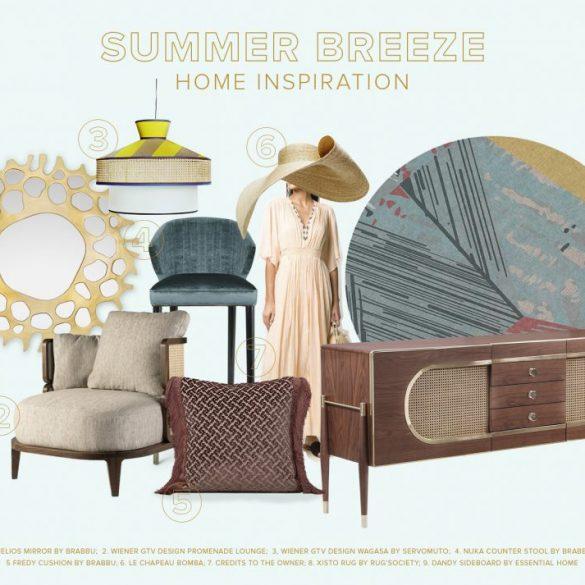 home decor ideas Home Decor Ideas That Will Extend The Summer Feeling home decor ideas extend summer feeling 1 585x585