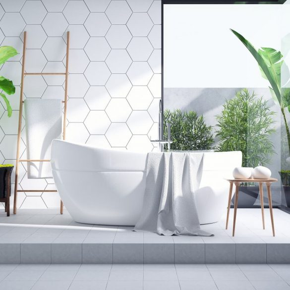 bathroom trends Bathroom Trends 2021/2022: The Hottest Tile Ideas Bathroom tile trends cover 585x585