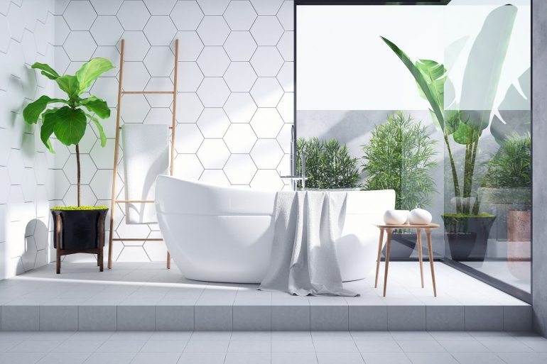 bathroom trends Bathroom Trends 2021/2022: The Hottest Tile Ideas Bathroom tile trends cover 770x513