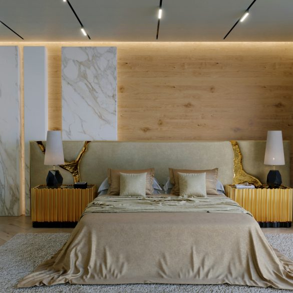 modern headboards Boca do Lobo Unveils Modern Headboards For Bed Boca do Lobos Just Launched Their First Ever Modern Headboard 585x585