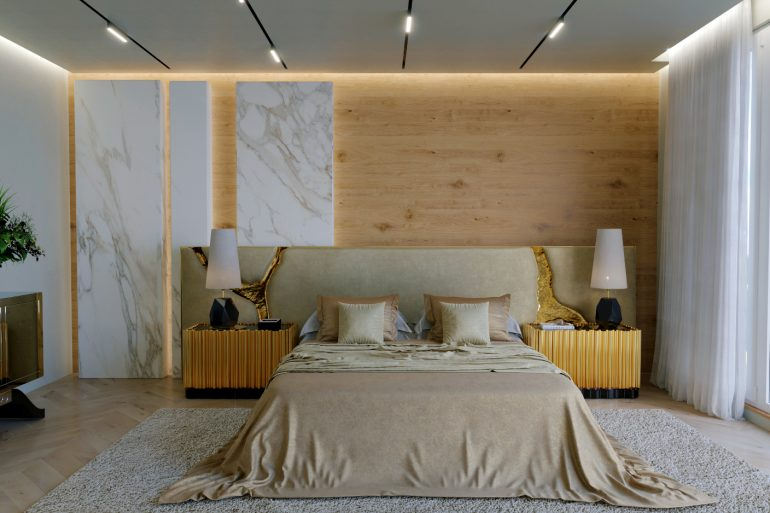 modern headboards Boca do Lobo Unveils Modern Headboards For Bed Boca do Lobos Just Launched Their First Ever Modern Headboard 770x513