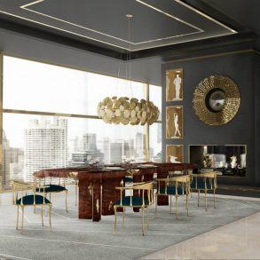 dining room Spice Up Your Dining Room With These Modern Furniture Ideas spice dining room modern furniture ideas 1 293x293