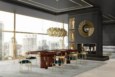 dining room Spice Up Your Dining Room With These Modern Furniture Ideas spice dining room modern furniture ideas 1 370x247