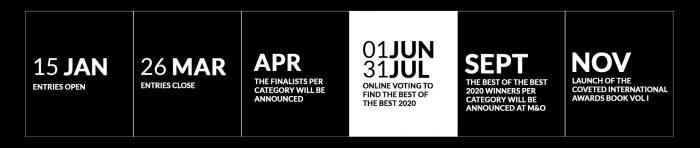 covet international awards Celebrate Design With Covet International Awards covet international awards lets celebrate design 2