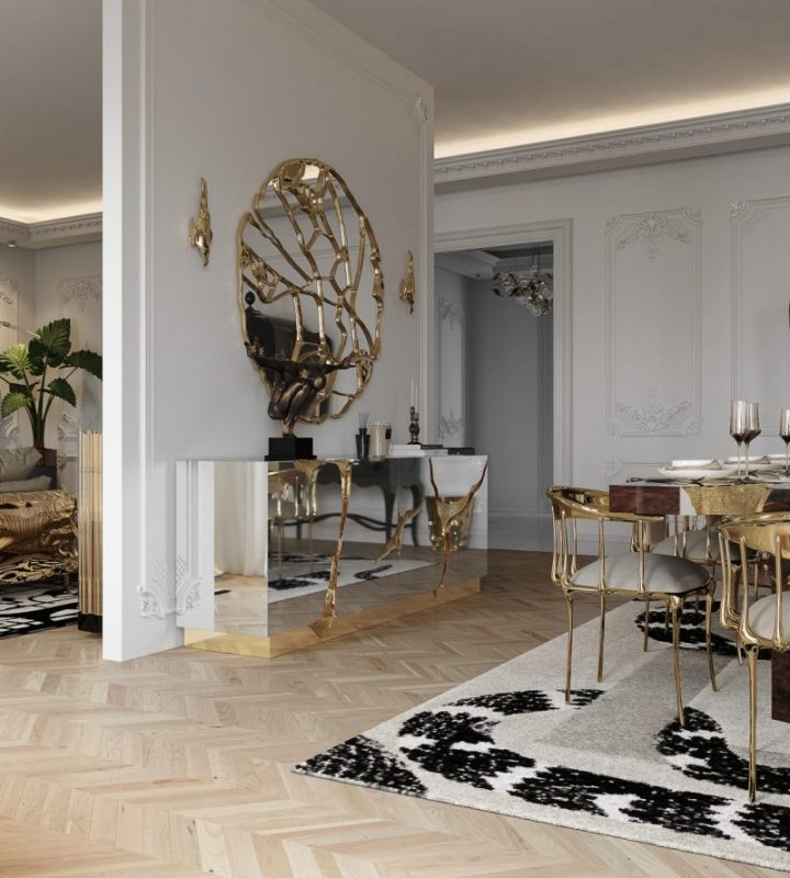 luxury penthouse Room By Room: Inside A Parisian Luxury Penthouse 17 3 720x800