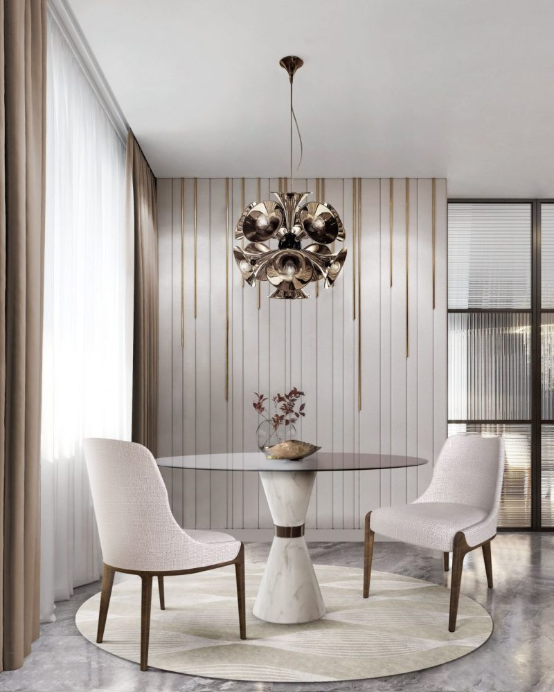 dining tables Elevate Your Dining Room With These Modern Dining Tables 1