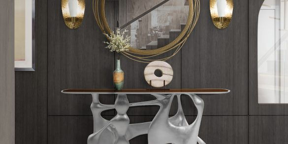 wall mirrors 15 Wall Mirrors You Can Buy Online BB bastei console cay mirror cell joh 1 585x293
