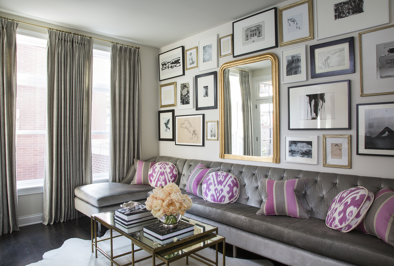 wendy labrum Wendy Labrum Interiors: A Passion Born in Europe Widdess FamilyRoom LR