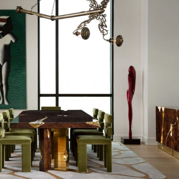contemporary penthouse Fall In Love With This Contemporary Penthouse In Texas Art Deco ID Project in Texas 4 1 2 585x585