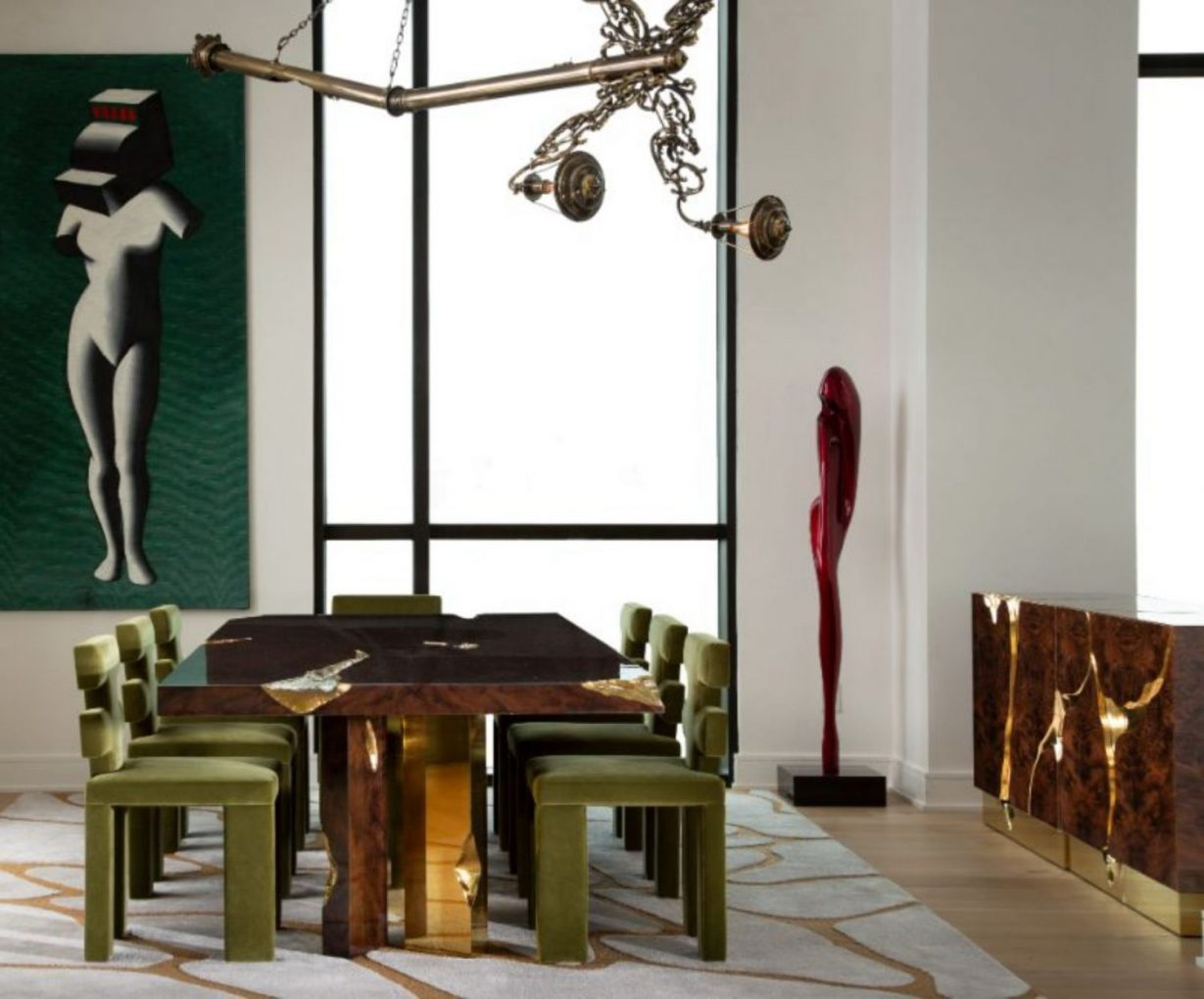 contemporary penthouse Fall In Love With This Contemporary Penthouse In Texas Art Deco ID Project in Texas 4 1 2 scaled